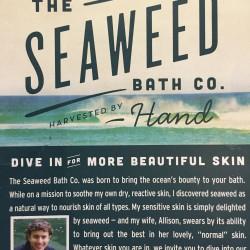 THE SEAWEED Detox cream
