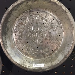 Vintage Pie mold Plate
